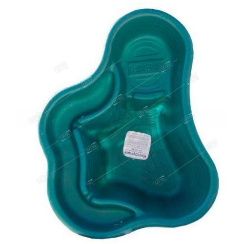 Пластиковый Пруд 150 л цветной (Бассейн Селигер зеленый) для дачи