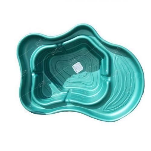 Пластиковый Пруд Селигер 500л Цветной (Бассейн зеленый/синий) для дачи