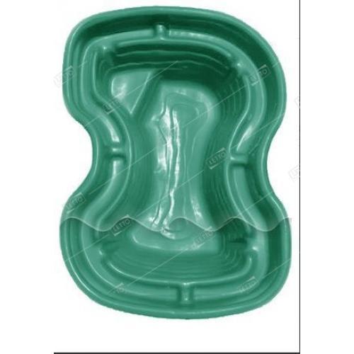 Пластиковый Пруд Селигер 400л Цветной (Бассейн синий) для дачи