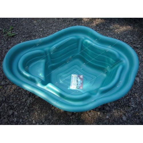Пластиковый пруд 135 л цветной для дачи
