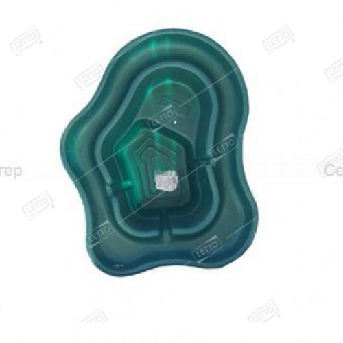 Пластиковый Пруд 270 л цветной (Бассейн Селигер зеленый) для дачи