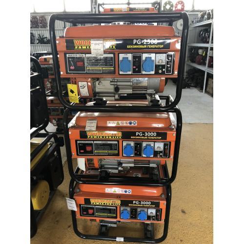 Бензиновый генератор Workmaster PG-3000 (2500 Вт) для дачи