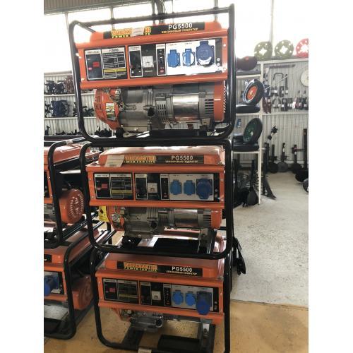 Бензиновый генератор WorkMaster PG-5500 для дачи