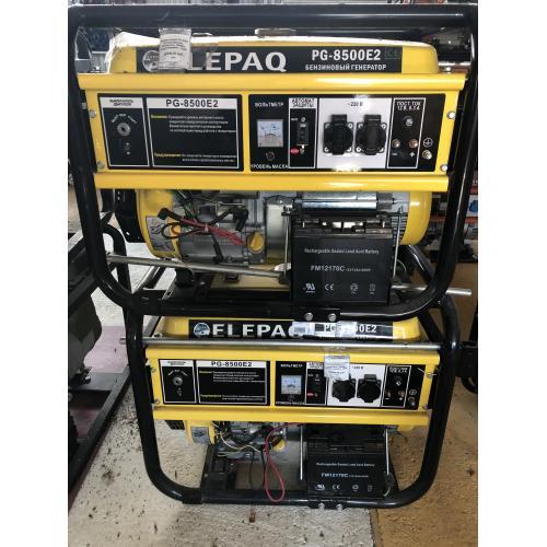 Пластиковый Электростанция ELEPAQ PG 8500 E2 для дачи
